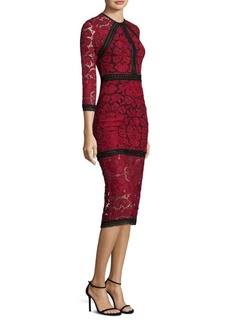 Alexis Randie Lace Fitted Dress