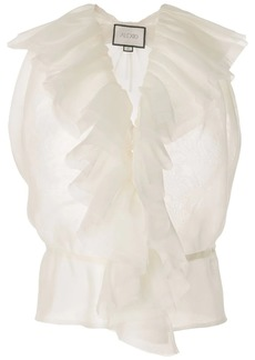 Alexis ruffled sleeveless top