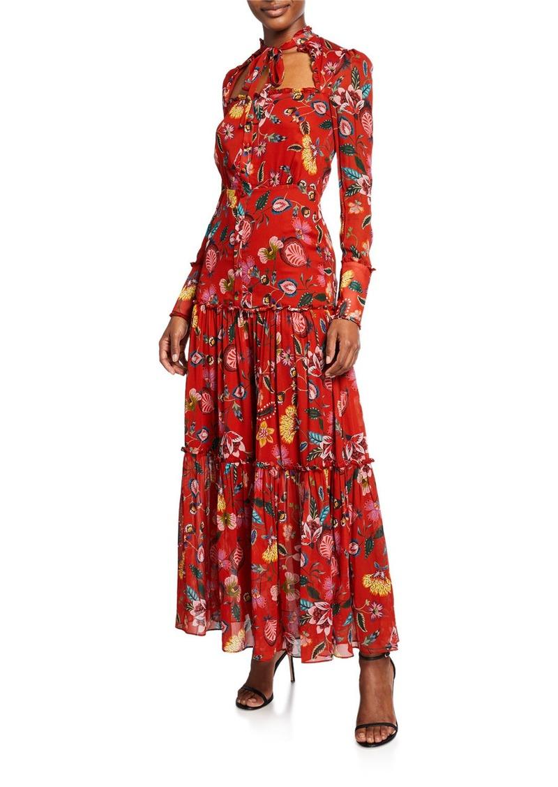 Alexis Sabryna Floral-Print Maxi Dress