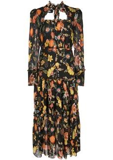 Alexis Sabryna floral-print midi dress