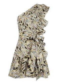 Alexis Safari One Shoulder Dress