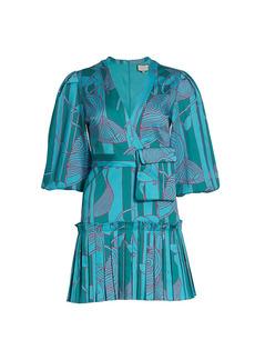 Alexis Sakura Printed Dress