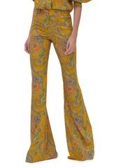 Alexis Salima Paisley-Print Flare Pants