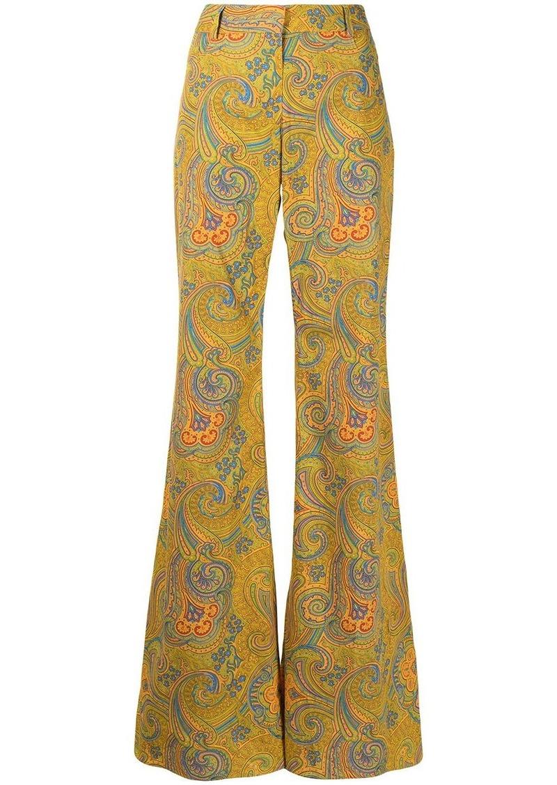 Alexis Salima paisley-print trousers