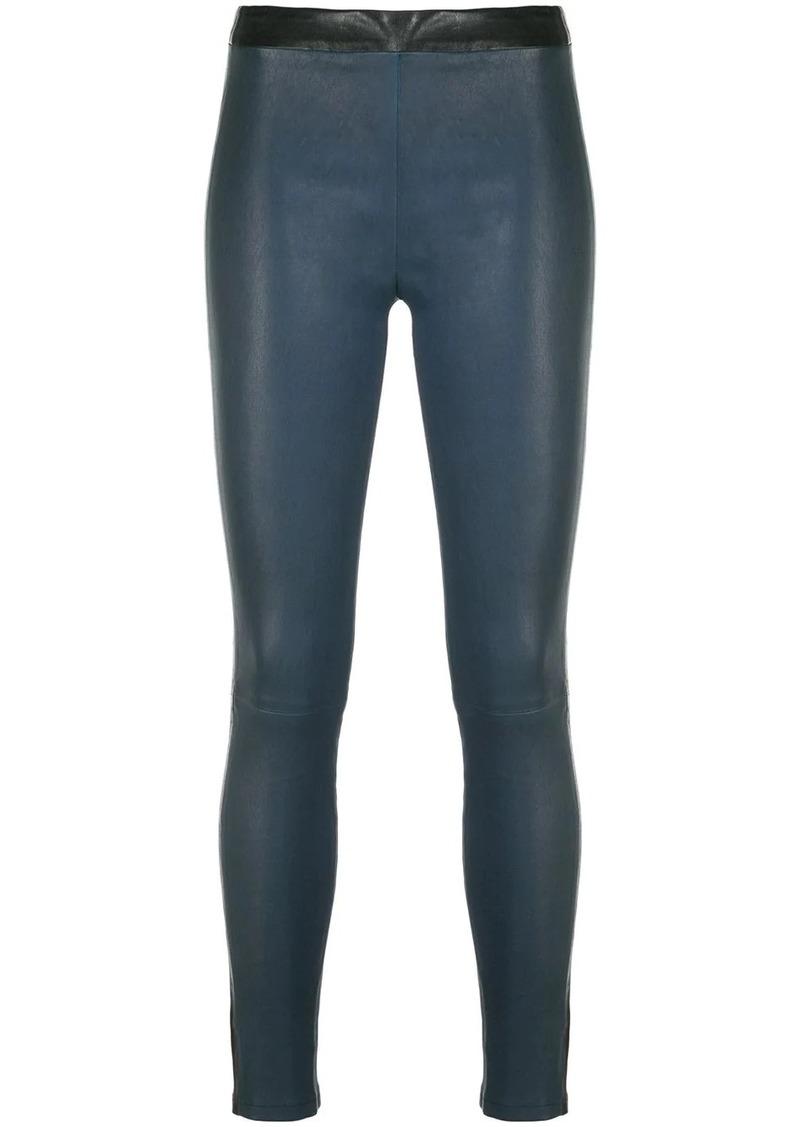 Alexis two-tone textured leggings