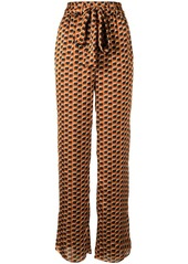 Alexis Tanner graphic print trousers