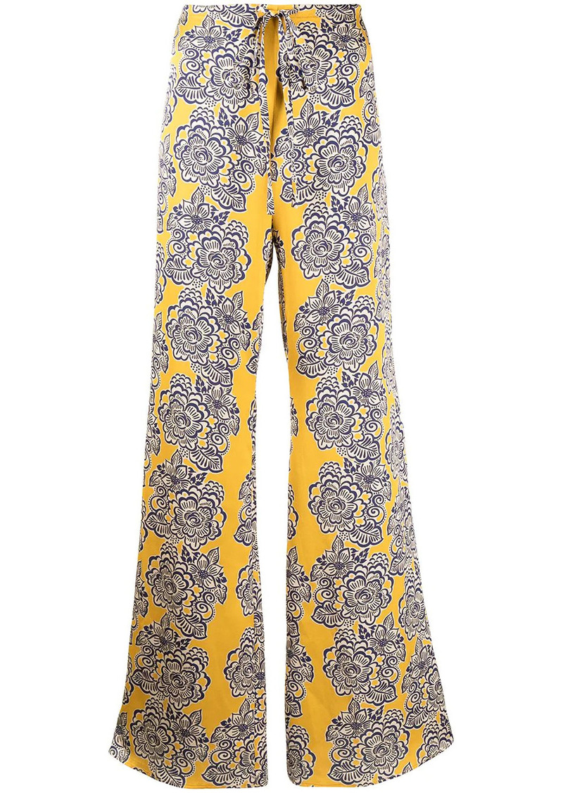 Alexis Tasmine floral-print trousers