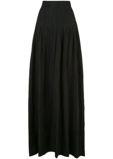 Alexis Valdas pleated full skirt