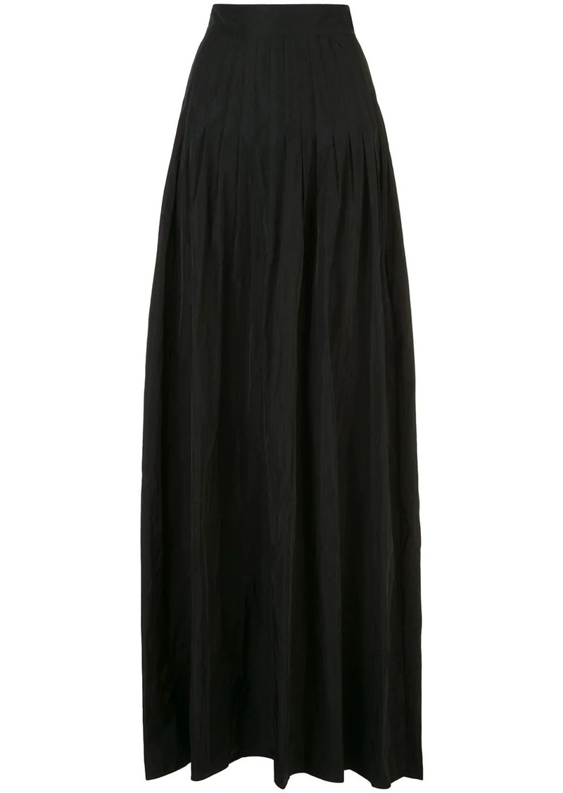 Alexis Valdas pleated full skirt