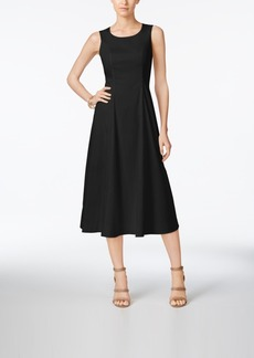 Alfani A-Line Midi Dress, Only at Macy's