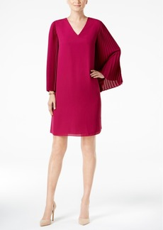 Alfani Accordion-Sleeve Dress, Created for Macy's