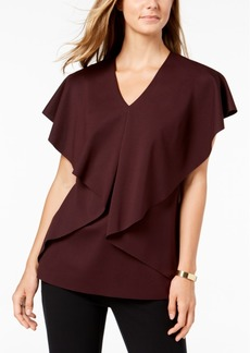 Alfani Asymmetrical Cape Top, Created for Macy's
