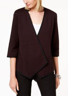 Alfani Asymmetrical Cardigan, Created for Macy's