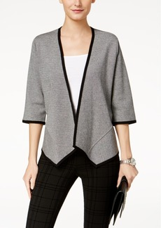 Alfani Asymmetrical Cardigan, Created for Macy's