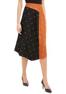 Alfani Asymmetrical Twin-Print Skirt, Created For Macy's