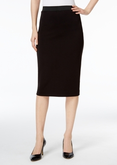 Alfani Petite Scuba Pencil Skirt, Created for Macy's