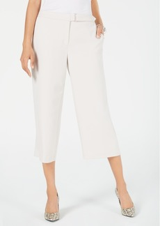 Alfani Belted Culotte Pants, Created for Macy's