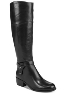 Alfani Women's Berniee Step 'N Flex Riding Boots, Created for Macy's Women's Shoes