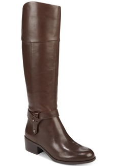 Alfani Berniee Step 'N Flex Wide-Calf Riding Boots, Created for Macy's Women's Shoes