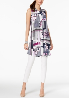 Alfani Petite Sleeveless Convertible Tunic, Created for Macy's