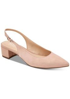 Alfani Charrlee Step 'N Flex Block-Heel Slingback Pumps, Created for Macy's Women's Shoes