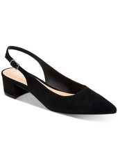 Alfani Charrlee Step 'N Flex Block-Heel Slingback Pumps, Created for Macy's Women's Shoes