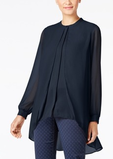 Alfani Chiffon-Overlay Blouse, Only at Macy's