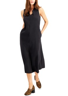 Alfani Cinched V-Neck Midi Dress, Created for Macy's