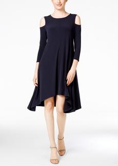 Alfani Cold-Shoulder Shift Dress, Only at Macy's