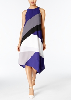 Alfani Colorblocked Shift Dress, Only at Macy's