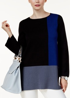 Alfani Colorblocked Sweater, Created for Macy's