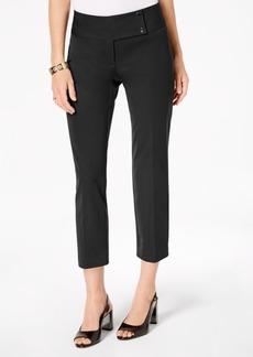 Alfani Cropped Slim-Leg Pants, Created for Macy's