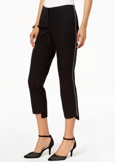Alfani Cropped Step-Hem Pants, Created for Macy's