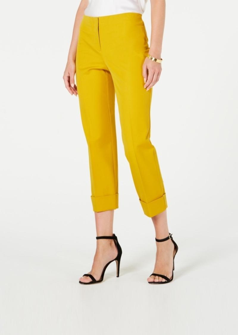 Alfani Cuffed Ankle Pants, Created for Macy's