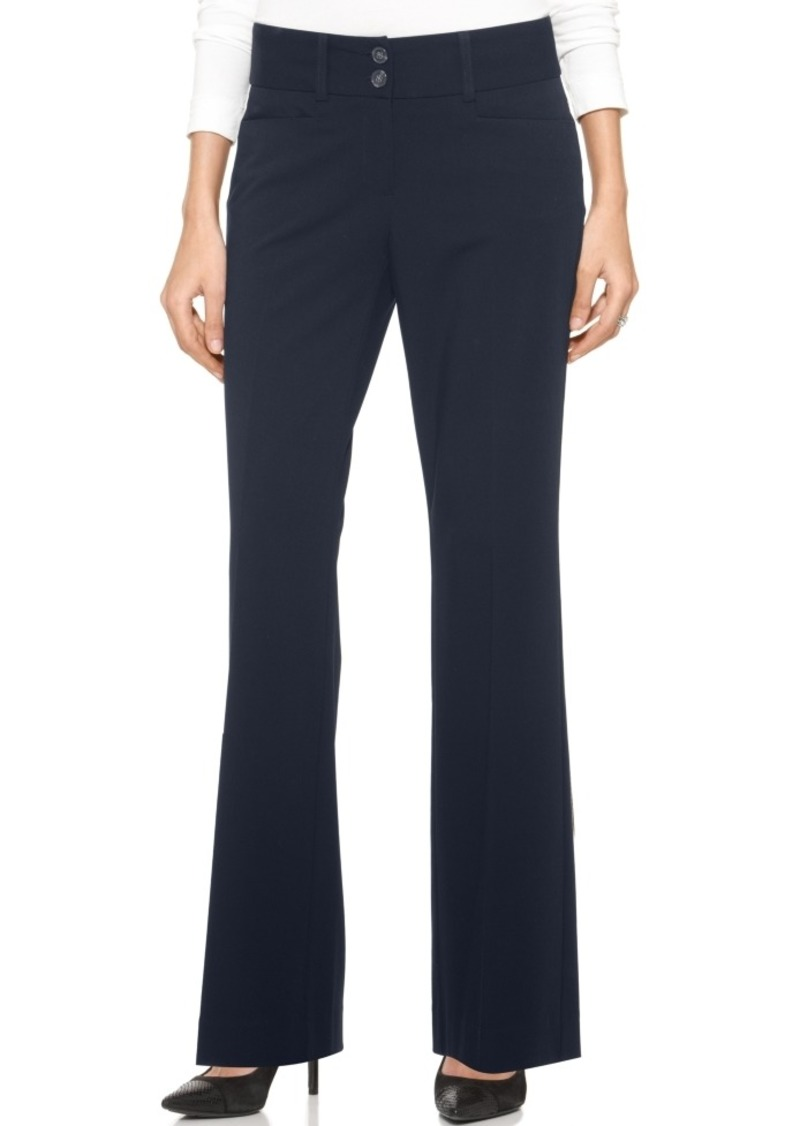 Alfani Curvy-Fit Slimming Bootcut Pants, Created for Macy's