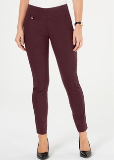 Alfani Curvy Pull-On Skinny Pants, Created for Macy's