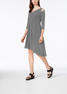 Alfani Cutout Asymmetrical Dress, Created for Macy's