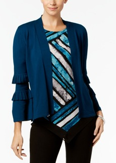 Alfani Double-Pleated Cardigan, Created for Macy's