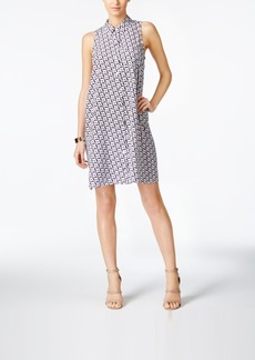 Alfani Dove-Print Shirtdress, Only at Macy's