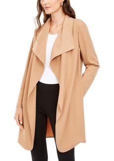 Alfani Draped Open-Front Jacket, Created For Macy's