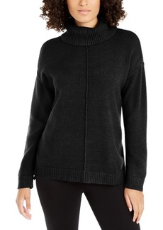 Alfani Dropped-Shoulder Turtleneck, Created For Macy's