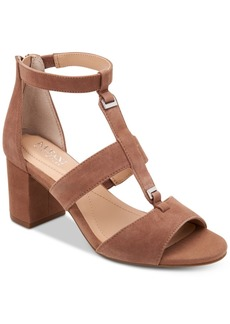 Alfani Elianaa Step 'N Flex Suede Dress Sandals, Created for Macy's Women's Shoes