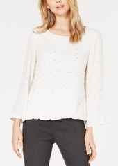Alfani Embellished Bubble Top, Created for Macy's