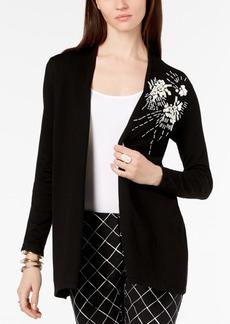 Alfani Embellished Long Cardigan, Created for Macy's