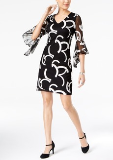 Alfani Embroidered Shift Dress, Created for Macy's