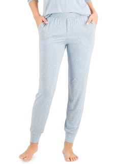Alfani Essential Jogger Pajama Pants, Created for Macy's