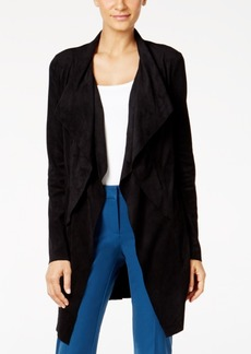 Alfani Faux-Suede Jacket, Only at Macy's