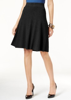 Alfani Fit & Flare Sweater Skirt, Only at Macy's