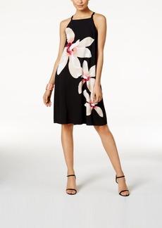 Alfani Floral-Print Shift Dress, Only at Macy's