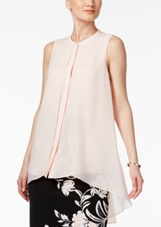 Alfani Flyaway High-Low Blouse, Created for Macy's